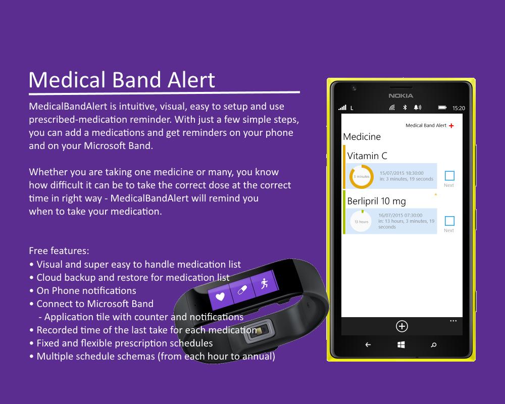 Medical Band Alert